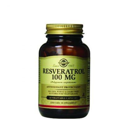 Solgar Resveratrol 100mg 60caps