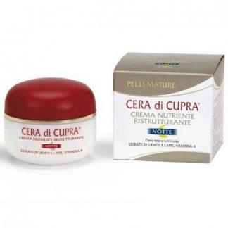 Cera di Cupra Κρέμα Νύκτας για Θρέψη και Ανανέωση 50ml