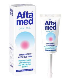 Gum Aftamed Gel Θεραπεία Ελκών & Στοματικών Βλαβών 12ml