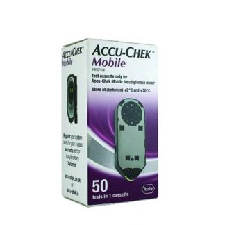 Accu-Chek Mobile Ταινίες Μέτρησης Σακχάρου 50τμχ