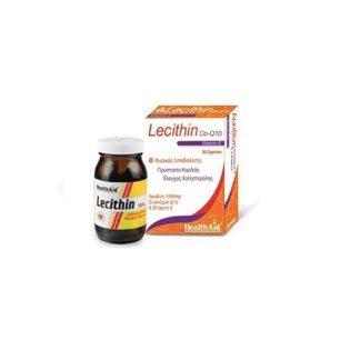 Health Aid Lecithin 1000mg with Co-Q10 & Vitamin E 30caps
