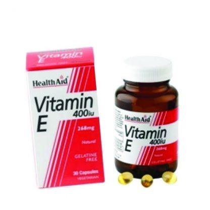 Health Aid Vitamin E 400IU 30caps