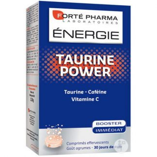 Forte Pharma Energie Taurine Power 30 αναβράζοντα δισκία