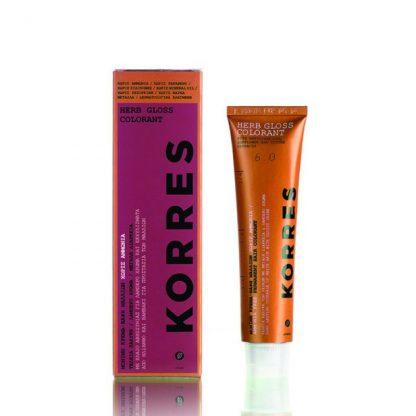 Korres Herb Gloss 6.62       Ξανθό Σκούρο Κόκκινο Βιολετί 60ml