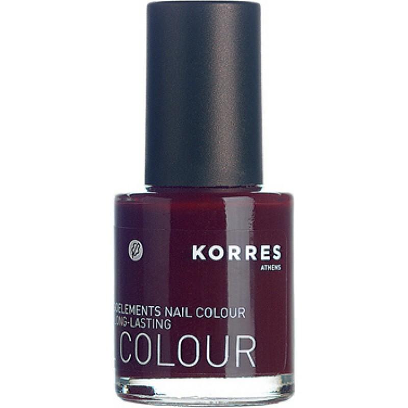 Korres Βερνίκι Νυχιών Dark Red No59 11ml