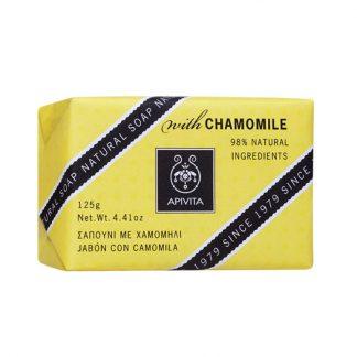 Apivita Natural Soap με Χαμομήλι 125gr