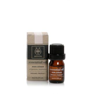 Apivita Essential Oils Αιθέριο Έλαιο Ματζουράνα 5ml