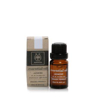 Apivita Essential Oils Γιασεμί 10% Διάλυμα σε Έλαιο Jojoba 10ml
