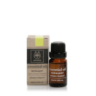Apivita Essential Oils Αιθέριο Έλαιο Περγαμόντο 10ml