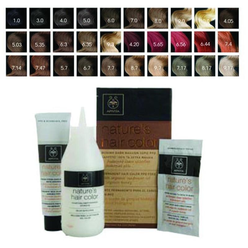 Apivita Nature s Hair Color Professional Μόνιμη Βαφή Μαλλιών 8.7 Ξανθό  Ανοιχτό Μπεζ caf5973b35c