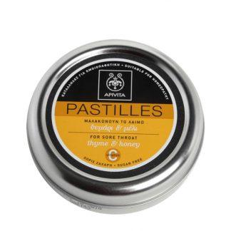 Apivita Pastilles για τον Λαιμό με Θυμάρι & Μέλι 45gr