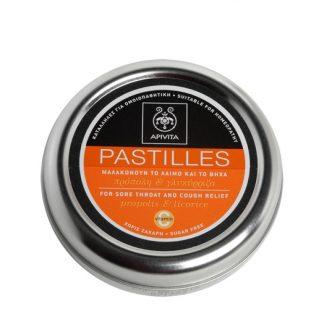 Apivita Pastilles για τον Λαιμό με Πρόπολη & Γλυκύρριζα 45gr