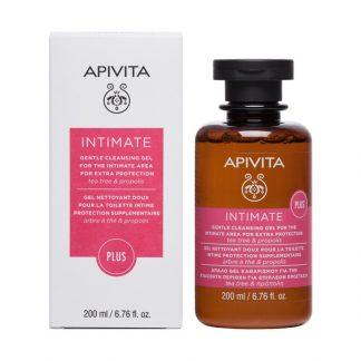 Apivita Intimate Plus Gel Καθαρισμού της Ευαίσθητης Περιοχής με Tea Tree & Πρόπολη 200ml