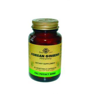 Solgar Korean Ginseng (Panax) 50caps