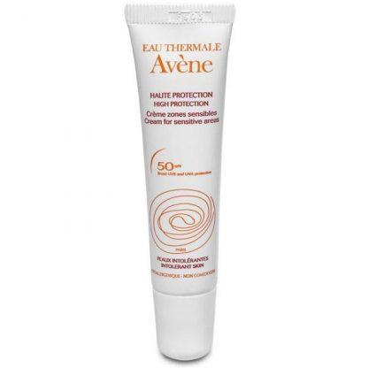 Avene Protection Creme Mineral Zones Sensibles SPF50+ 15ml