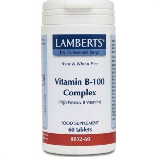 Lamberts Vitamin B 100 Complex 60tabs