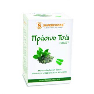 Superfoods Green Tea 50caps
