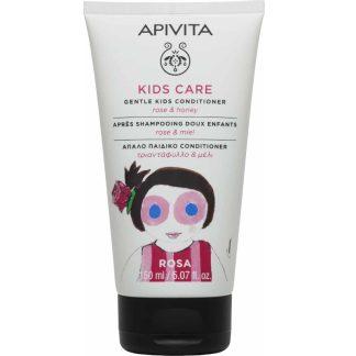 Apivita Kids Conditioner με Τριαντάφυλλο & Μέλι 150ml