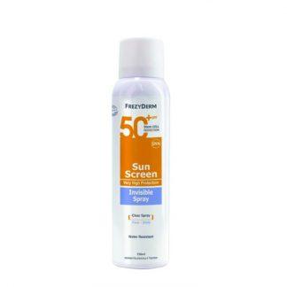 Frezyderm Sun Screen Ivisible Spray SPF50 150ml