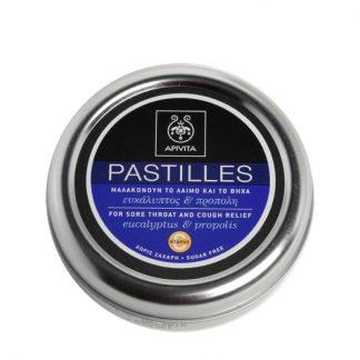 Apivita Pastilles για τον Λαιμό με Ευκάλυπτο & Πρόπολη 45gr