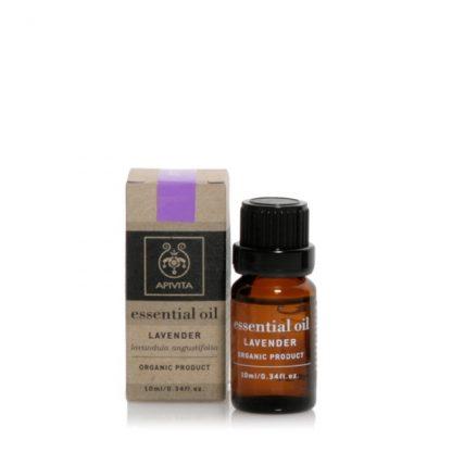 Apivita Essential Oils Αιθέριo Έλαιo με Λεβάντα 10ml