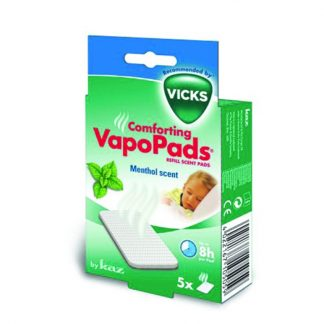 Vicks Comforting VapoPads Ανταλλακτικά Αρωματικά Επιθέματα με Μενθόλη 5τμχ