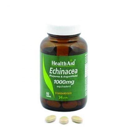 Health Aid Echinacea 1000mg, 60tabs