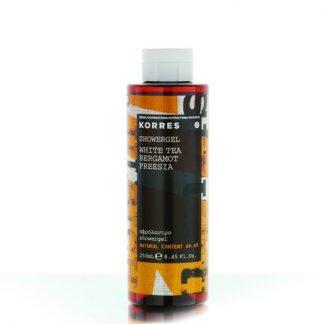 Korres Showergel White Tea- Bergamot-Freesia 250ml