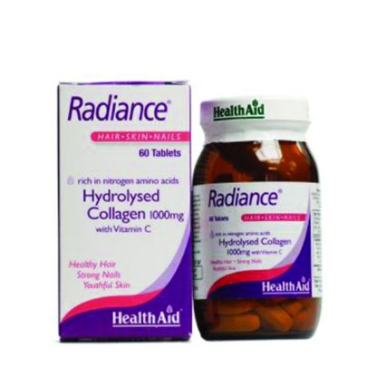 Health Aid Radiance Hydrolysed Collagen 1000mg with Vitamin C 60tabs
