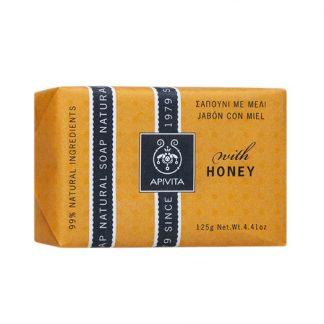 Apivita Natural Soap με Μέλι 125gr