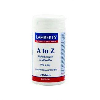 Lamberts A To Z Vitamins 30tabs