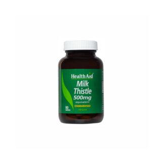 Health Aid Milk Thistle Seed Extract 500mg 30tabs
