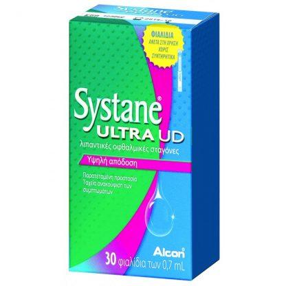 Systane Ultra Λιπαντικές Οφθαλμικές Σταγόνες 30X0.7ml