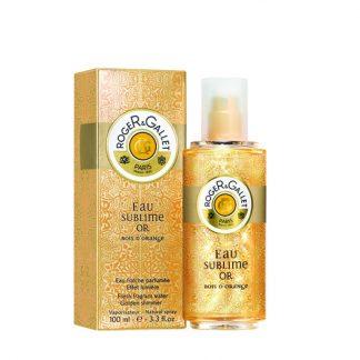 Roger & Gallet Eau Sublime Or bois d' Orange Fresh Fragrant Water 100ml