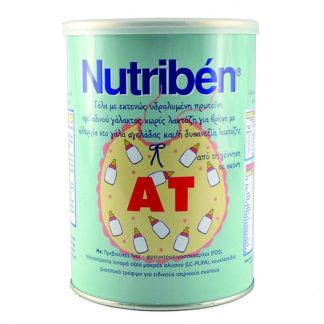 Nutriben AT Γάλα Χωρίς Λακτόζη 400gr