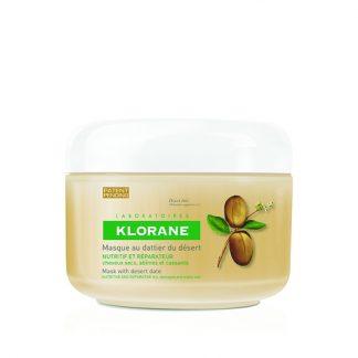 Klorane Masque with Desert Date Θρέψης και Αναδόμησης για Ξηρά Μαλλιά 150ml