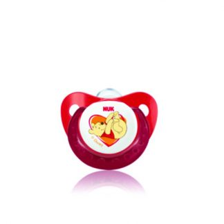 NUK Κόκκινη Πιπίλα Trendline Disney Σιλικόνης Νο2 ,6-18m (10.735.564)