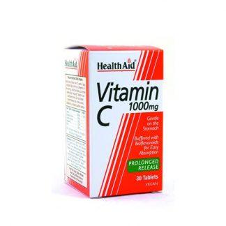 Health Aid Vitamin C 1000mg Prolonged Release 30tabs