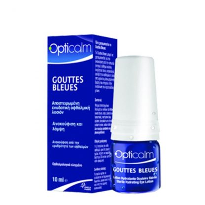 Opticalm Gouttes Bleues Οφθαλμικές Σταγόνες 10ml