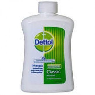 Dettol Ανταλλακτικό Κρεμοσάπουνο Κλασικό 250ml
