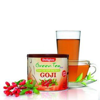 Deligios Green Tea Goji 230gr