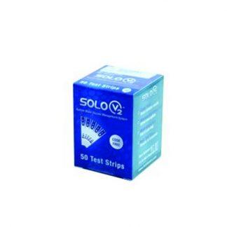 Solus V2 Ταινίες Μέτρησης Σακχάρου 50τμχ
