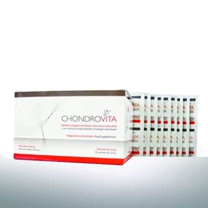 Pharmagenesis Chondrovita Υδρολυμένο Κολλαγόνο για την Αποκατάσταση της Λειτουργικότητος των Αρθρώσεων 30X12gr