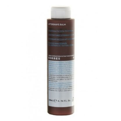 Korres Men's Aftershave Balm Calendula & Ginseng 200ml