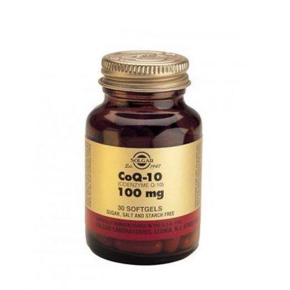 Solgar Coenzyme Q-10 100mg 30Softgels