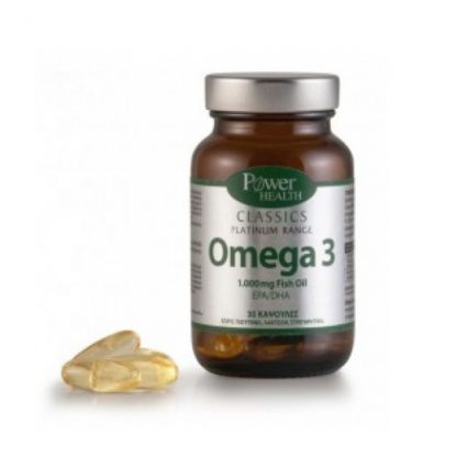 Power Health Classics Platinum Omegalen 30caps