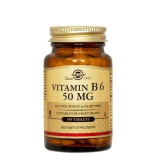 Solgar Vitamin Β6 50mg 100tabs