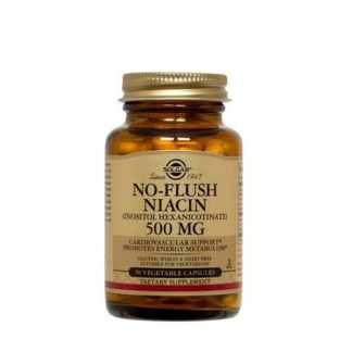 Solgar No Flush Niacin 500mg 50caps
