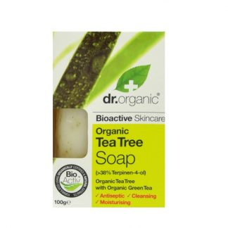 Dr. Organic Tea Tree Soap Bar 100gr