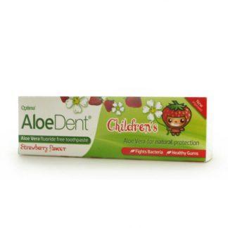 Optima Aloe Dent Toothpaste Childrens 50ml